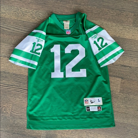 finest selection b5d96 a45b6 Vintage Joe Namath New York Jets Jersey